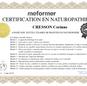 Certificat Naturopathe Corinne Cresson - massangel - ardèche