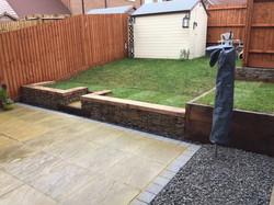 contemporary garden seaford uk