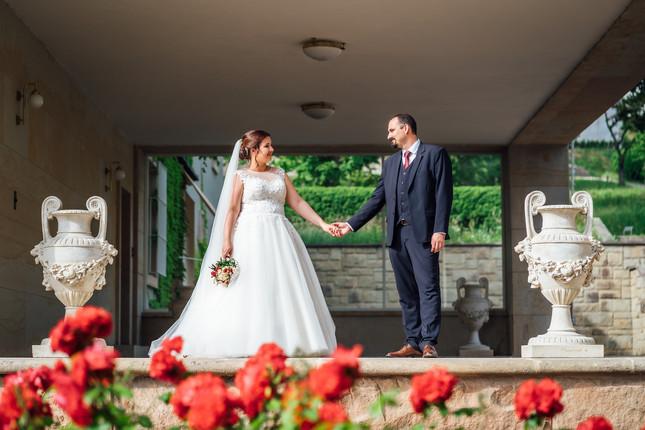 vila zahrada svatebni foceni brno fotogr