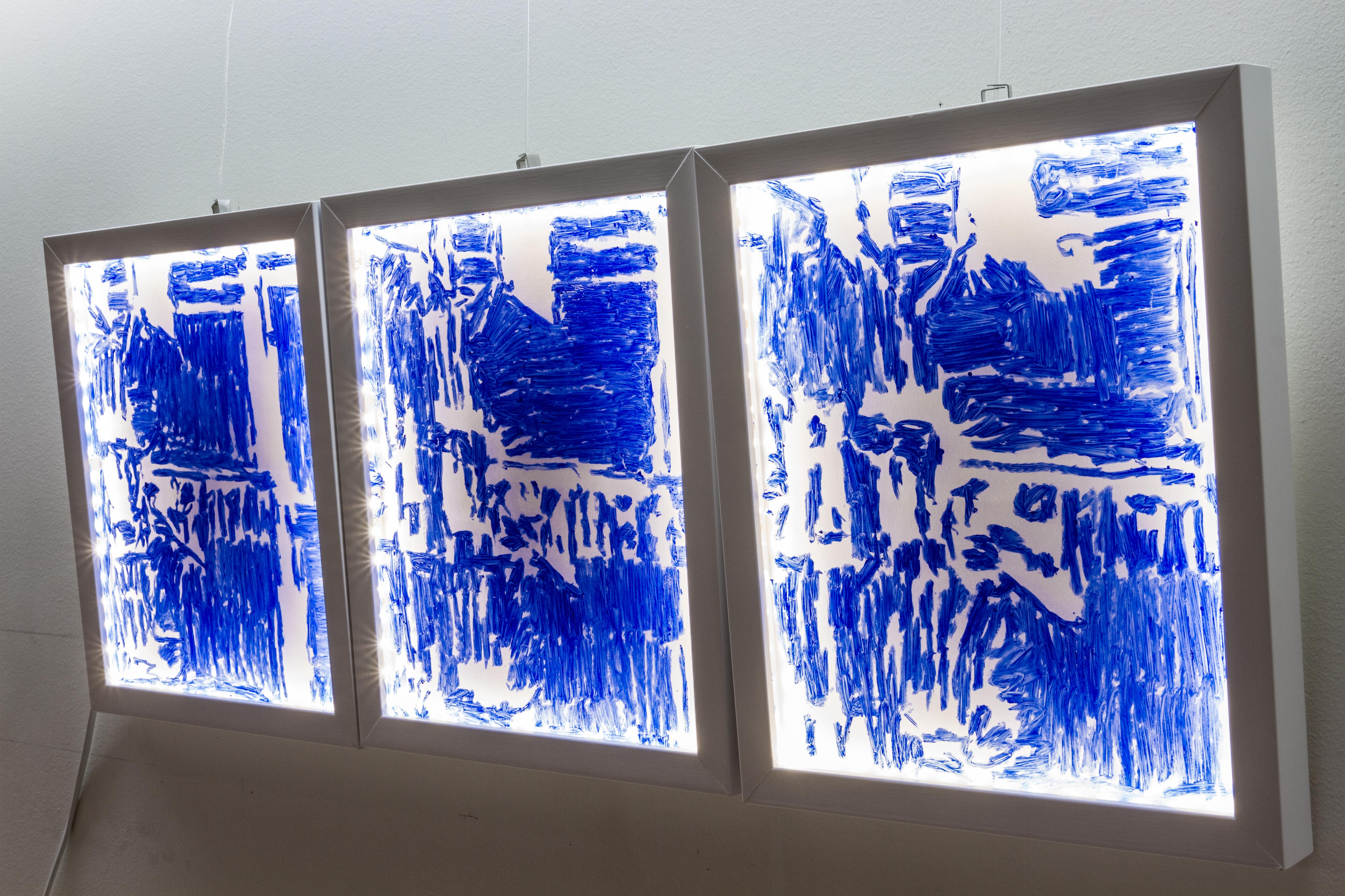 Delft Blue 203 #2  -2016