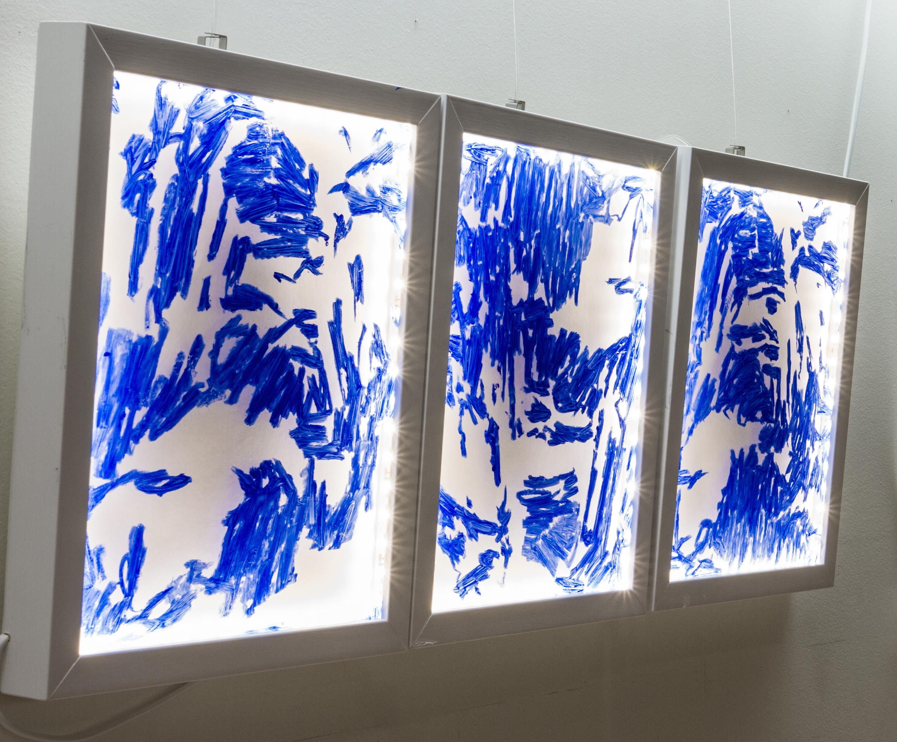 Delft Blue 203 #1  -2016
