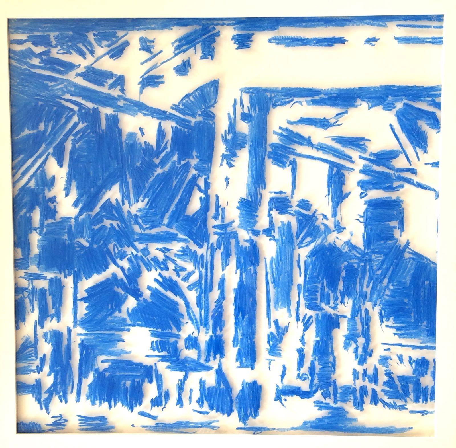 Delft Blue 203 #5 - 2016