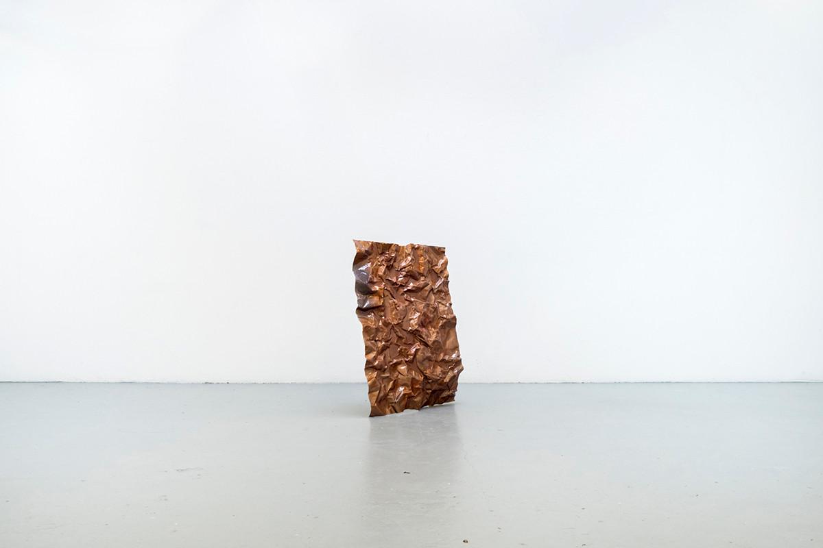 Bronze wall, 2018