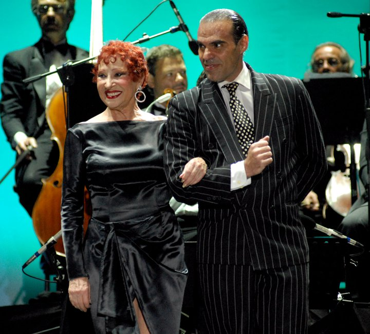 Junior Cervilla e Maria Nieves
