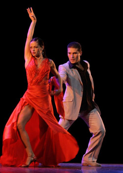 Adrian Aragon y Erica Boaglio