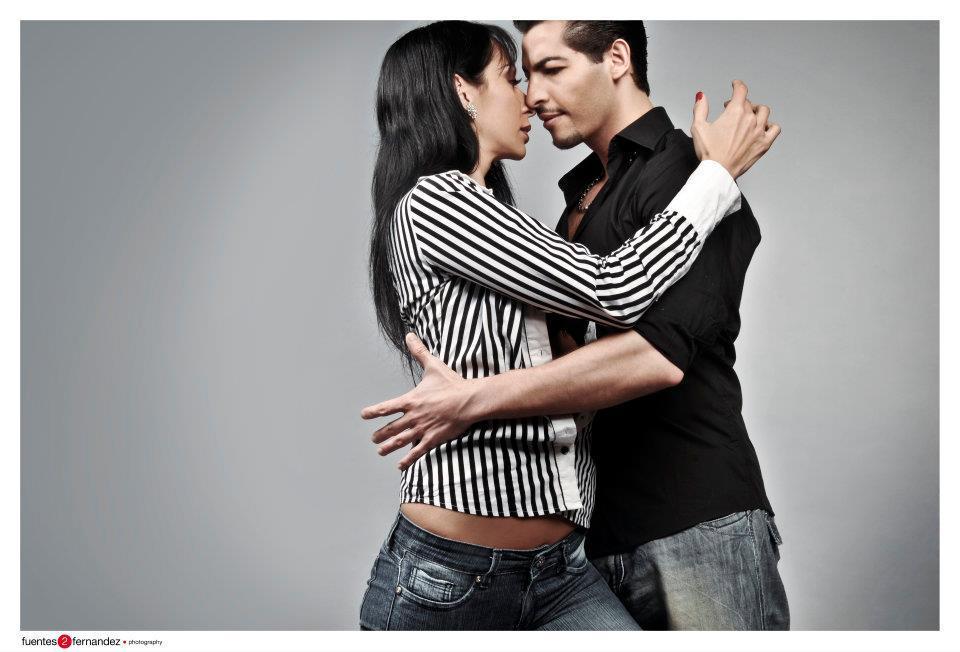 Analia Morales y Gabriel Ponce