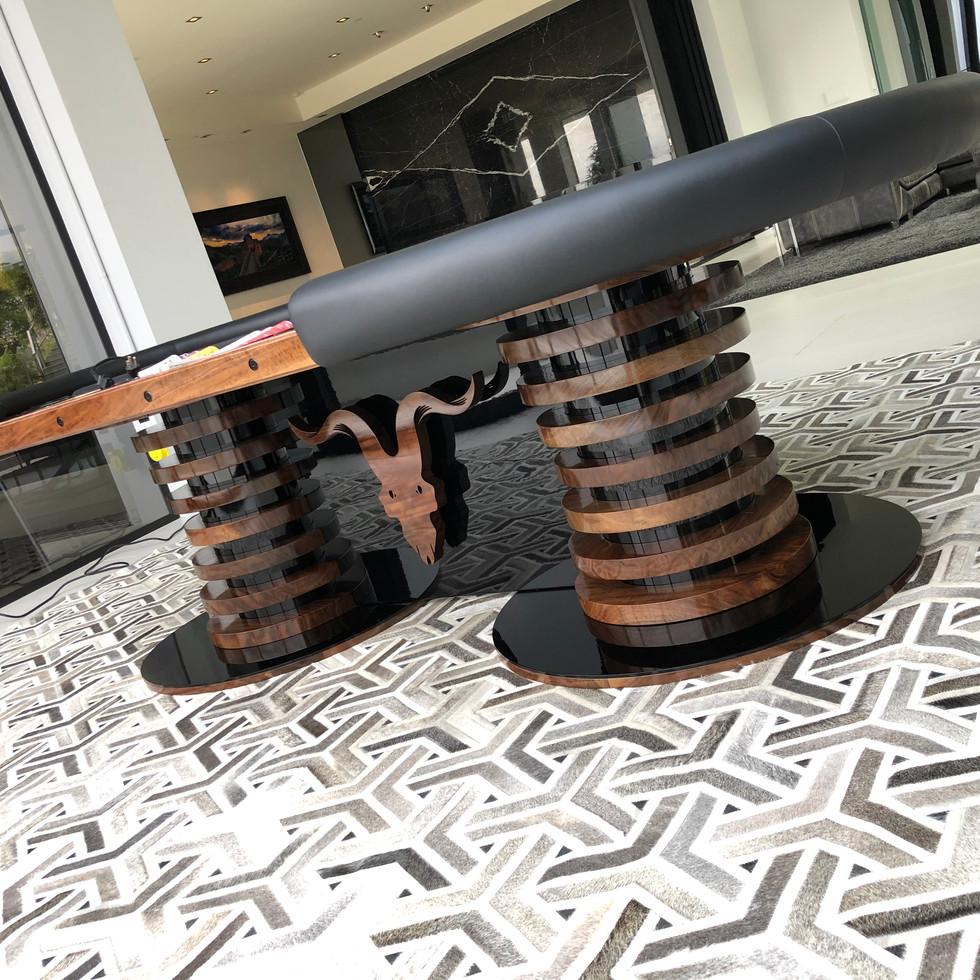 luxury poker table