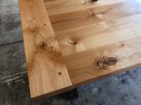 Knotty Alder X Table