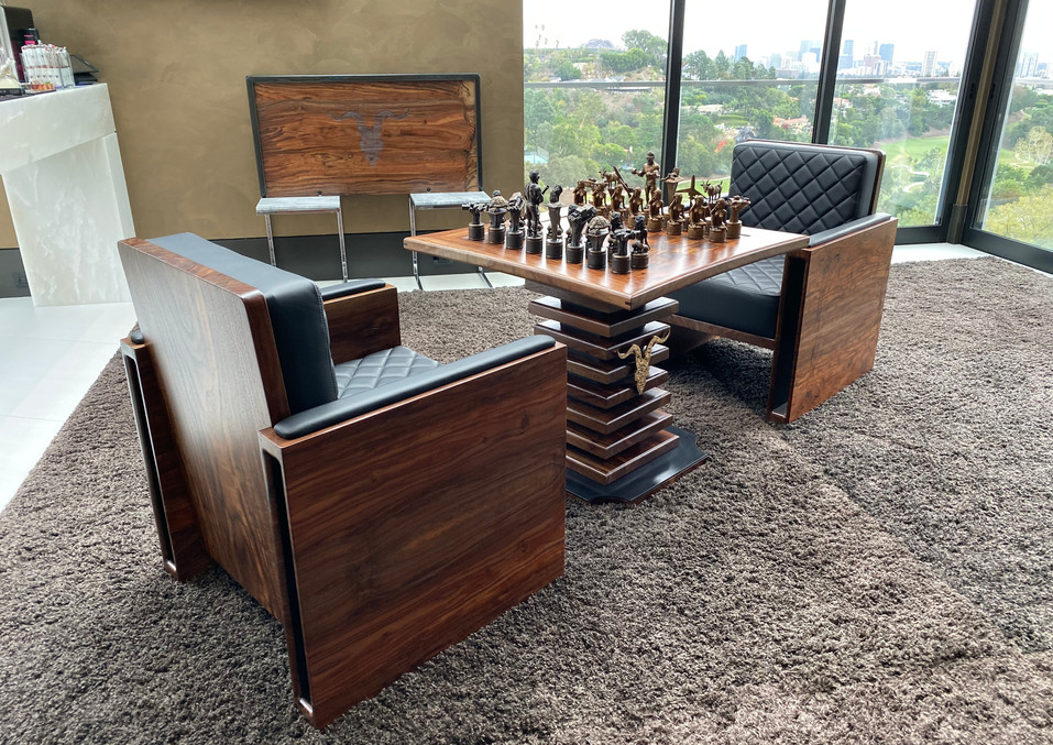 luxury chess set package