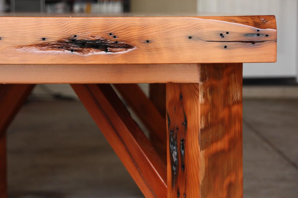 Redwood Harvest Table