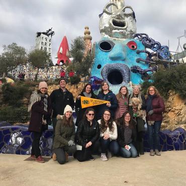Niki de Saint Phalle's Tarot Gardens 2019