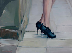 Maja Godlewska, Primavera 5, 2013, oil on canvas