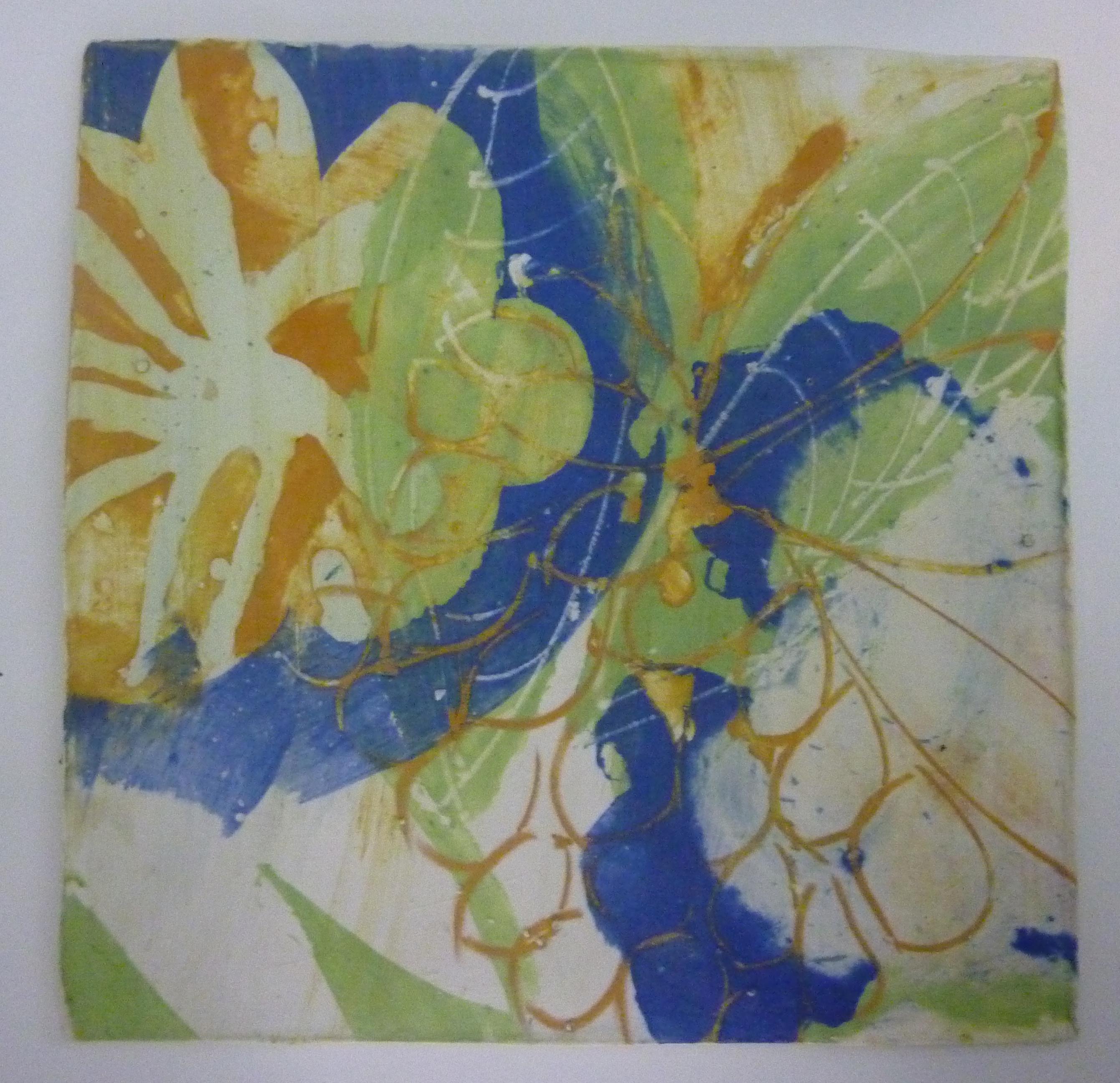Rebecca Hutchinson, paper clay tile