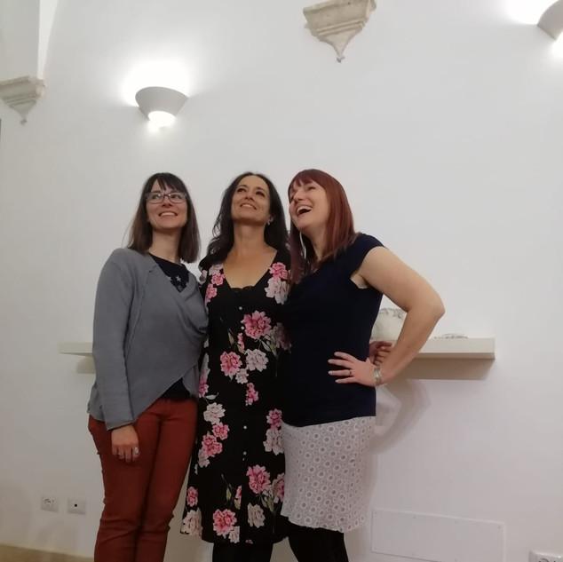 Jennifer Hill, Dawn Holder, Marie Stucchi