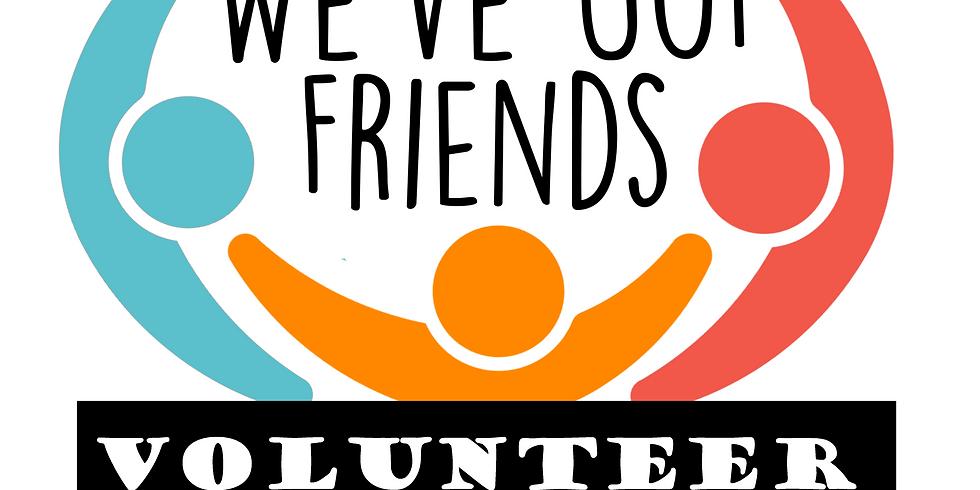 March 1 Volunteer