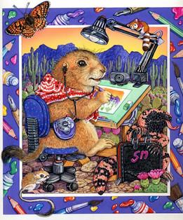 Prairiedog Artist