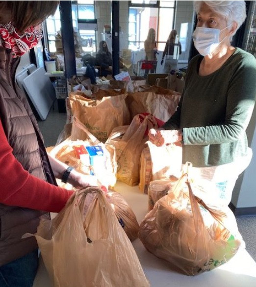 Food donations received from everyone in the community - greatly appreciated!