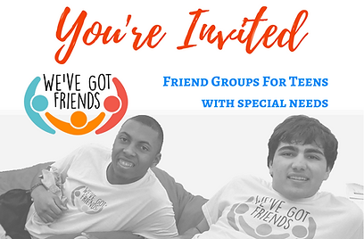 Friend Groups For Teens with Special Nee