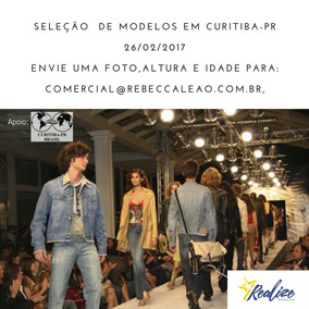 Seleção de modelos em Curitiba - PR.