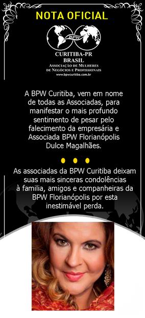 Nota Oficial - BPW Curitiba