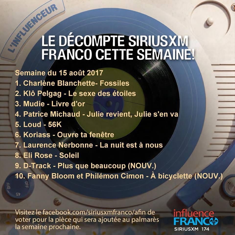 SiriusXM Franco Charlène Blanchette
