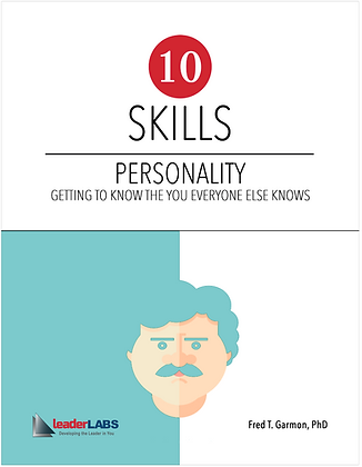 LeaderLabs 2.0: #3 Personality PDF Workbook