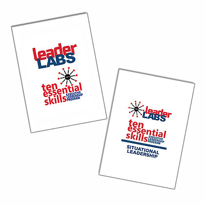 Leadership Note Cards (2 sets: 52 each deck)