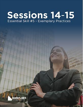 LeaderLabs 10es: SESSIONS 14-15 Transformational Leadership PDF Workbook