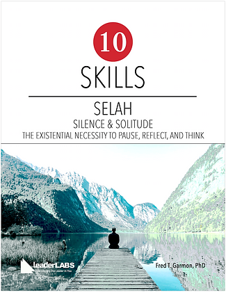 LeaderLabs 2.0 #8: Selah PDF Workbook