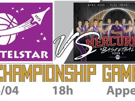 Titelwedstrijd Telstar Heren B