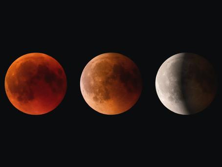 ブラッドムーン 射手座の満月