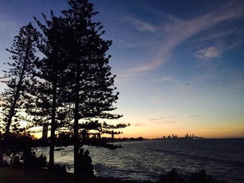 Burleigh Heads sunset