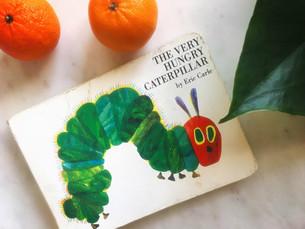 Reborn流バイリンガル教育#4  The Very Hungry Caterpillar
