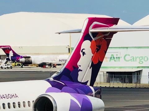 hawaian airline ハワイアン航空