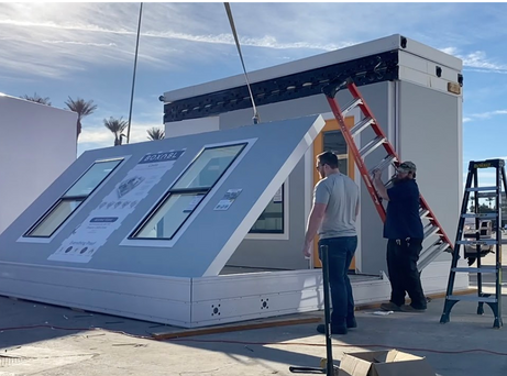 Boxabl Portable Foldable Homes: $50,000 for 375 Square Ft or More Built in 2 Hours