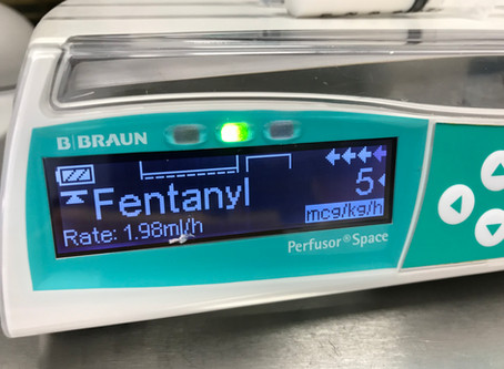 Getting started with fentanyl as a CRI