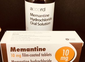 Memantine or amantadine?