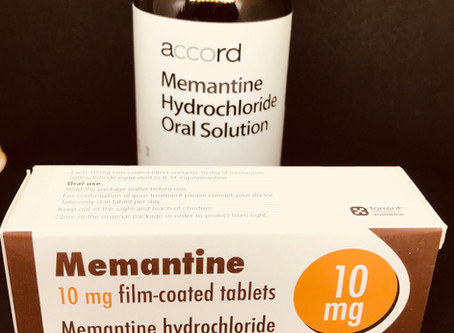 Memantine or amantadine?