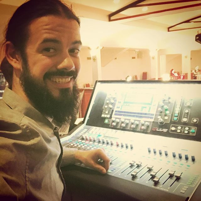 Me, doin it! #sound #proaudio #engineer