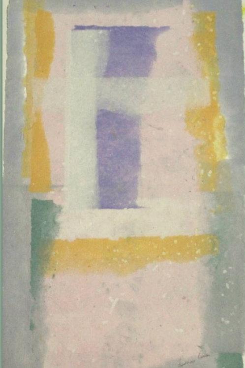 Composizione (2008); carta fatta a mano, 60x40 cm