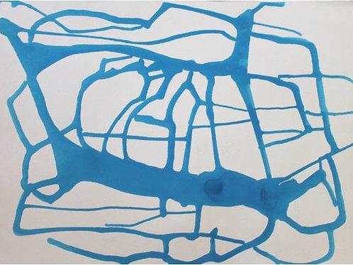 Rivoli (2006/08); acrilico su tela, 50x70 cm