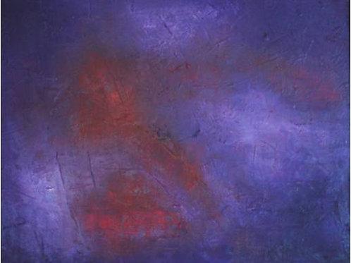 Notturno (1995/96), olio su tela, 50x40 cm