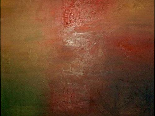 Autunno (1995/96), olio su tela, 40x40 cm