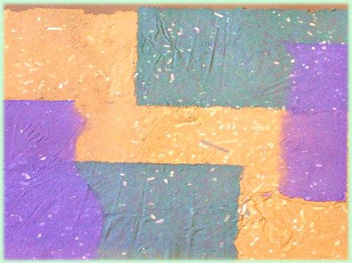 Composizione (2008); carta fatta a mano, 46x46 cm
