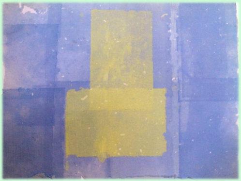 Composizione (2008); carta fatta a mano, 50x70 cm