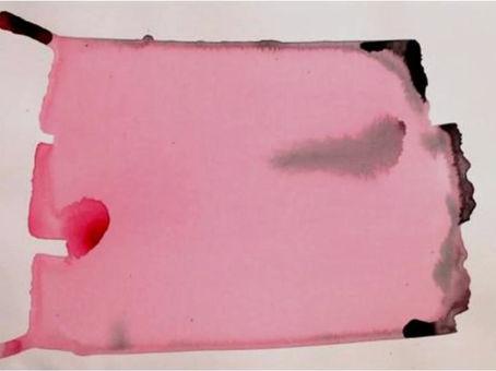 Piccolo Quid (2008); acrilico su carta, 40x30 cm