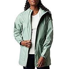 Columbia Women's Arcadia Casual Jacket, Waterproof & Breathable, Light Lichen