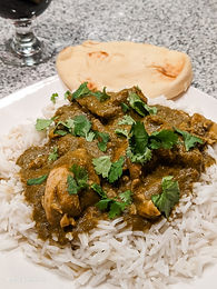 Slow Cooker Chicken Saag
