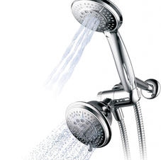 Hydroluxe Handheld Showerhead & Rain Shower Combo