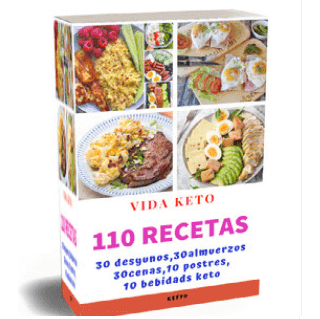 110 RECETAS KETO